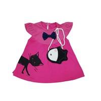Jual Baju Bayi Dress Anak Vinata  Dev Vo - Cat & Fish