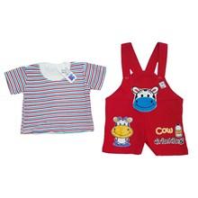 Pakaian Bayi Setelan Bayi Vinata Dev EA - Baby Cow