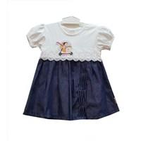 Jual Baju Bayi Dress Anak Dev Ve - Denim Lace