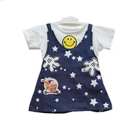 Jual Baju Bayi Dress Anak Vinata Dev Vo - Smile Denim