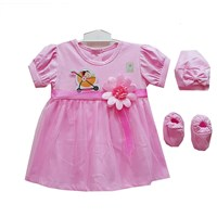 Jual Baju Bayi Dress Anak Vinata Dev Vo - Tutu Flower