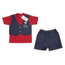 Pakaian Bayi Setelan Bayi Vinata Dev Iy - Denim Vest