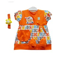 Jual Baju Bayi Dress Anak Vinata Dev Vo - Floral Ribbon