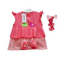Jual Baju Bayi Dress Anak Vinata Dev Vo - Love Bird
