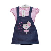 Jual Jumpsuit Bayi Dress Anak Vinata Dev Vu - Lovely Rabbit