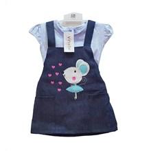 Jumpsuit Bayi Dress Anak Vinata Dev Vu - Lovely Rabbit