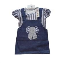 Jumpsuit Bayi Dress Anak Vinata Dev Vu - Elephant