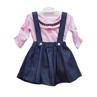 Jual Jumpsuit Bayi Dress Anak Vinata Dev Vu - Denim