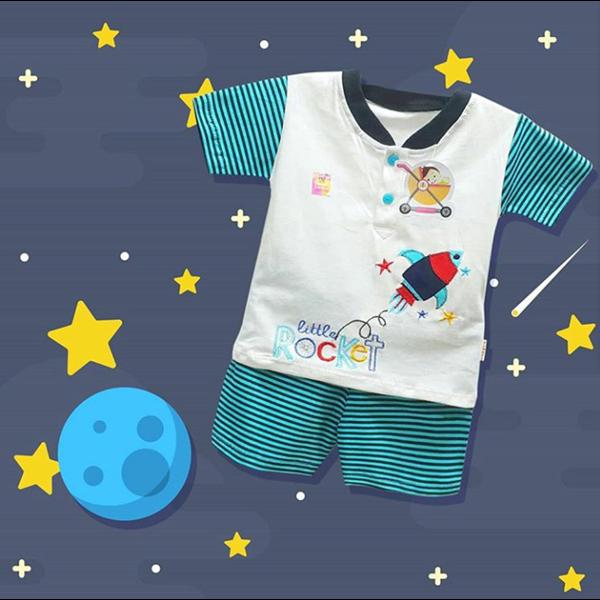 Baby Clotes Kids Suits Vinata Dev Vo - Rocket Strip