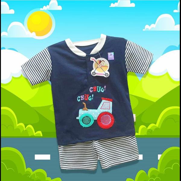 Baju  Bayi Setelan Anak Vinata Dev Vo - Tracktor