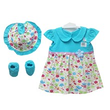 Pakaian Bayi Dress Bayi Vinata Dev Vo - Floral Set