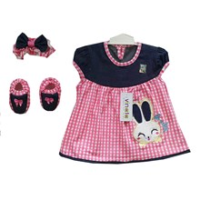 Pakaian Bayi Dress Bayi Vinata Dev Vo - Baby Rabbit