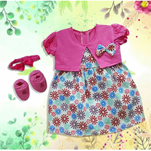 Baby Clothes Baby Dress Vinata Pon Pon Ve - Flower
