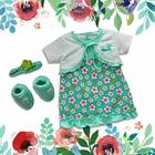 Baju Bayi Dress Bayi Vinata Pon Pon - Daisy Cardy 4