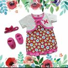 Baju Bayi Dress Bayi Vinata Pon Pon - Daisy Cardy 1