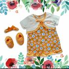 Baju Bayi Dress Bayi Vinata Pon Pon - Daisy Cardy 3