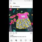 Baju Bayi Dress Bayi Vinata Dev Vo - Grey Rabbit 1