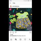 Baju Bayi Dress Bayi Vinata Dev Vo - Grey Rabbit 3