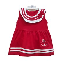 Pakaian Bayi Dress Bayi Vinata Dev Ve - Sailor Baby Ribbon
