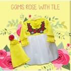 Baju Anak Muslim Gamis Anak Dev Ie - Rose 2