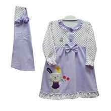 Baju Muslim Anak Gamis Anak Dev Ie - Polka Rabbit