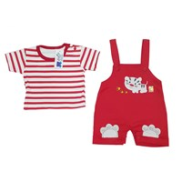 Pakaian Bayi Jumpsuit Bayi Vinata Dev Vo - Cat