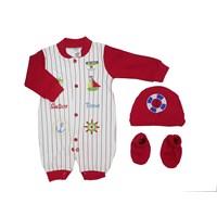 Pakaian Bayi Jumper Bayi Vinata Va - Base Ball