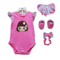 Baju Bayi Jumper Bayi Vinata - Cute Girl