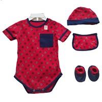 Jual Pakaian Bayi Jumper Bayi Vinata 5in1 - Boy Pattern