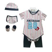 Pakaian Bayi Jumper Bayi Vinata 5in1 - American