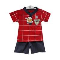 Jual Pakaian Bayi Setelan Bayi Vinata Dev Vs - Bear Grey