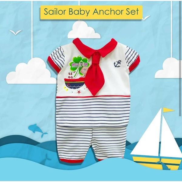 Baju Bayi Setelan Bayi Vinata Dev Ve - Baby Sailor