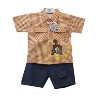 Jual Pakaian Bayi Setelan Bayi Vinata Dev Vy - Monkey Banana