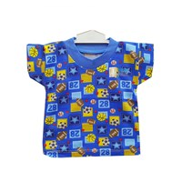 pakaian bayi Oblong Bayi Vinata Full Print - Pendek
