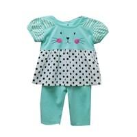 Jual Pakaian Bayi Setelan Bayi Vinata Dev Ea - Cats Polka