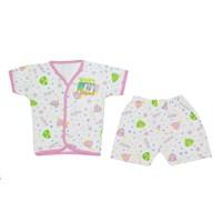 Pakaian Bayi Baju Bayi Baby Aruchi - Pendek