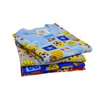 Pakaian Bayi Oblong Bayi Vinata Full Print Ball - Pendek