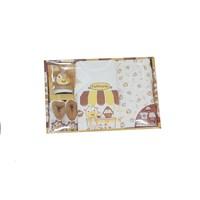 Produk dan Peralatan Bayi Baby Set Kiddy Coklat