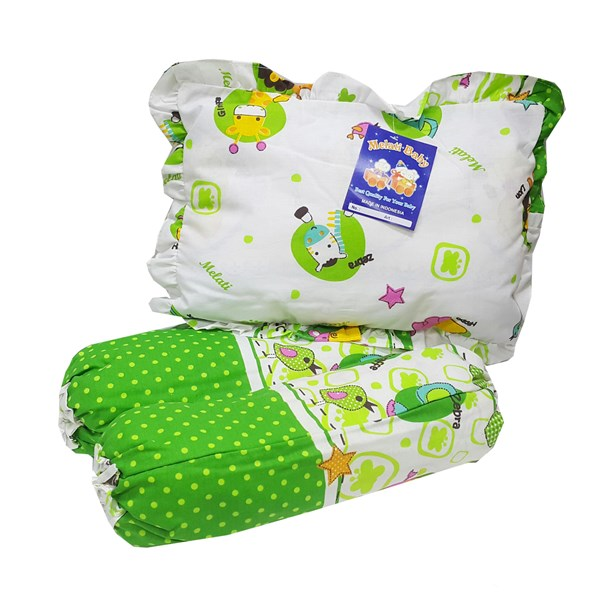 Produk dan Peralatan Bayi Bantal Guling Bayi Melati - Renda