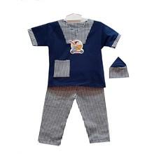 Baju Anak Baju Koko Bayi Vinata V Neck - Pendek