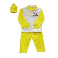 Jual Baju Anak Baju Koko Bayi Vinata Putih Warna - Panjang