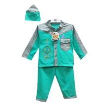 Pakaian Bayi Baju Koko Bayi Vinata Pattern with Pocket