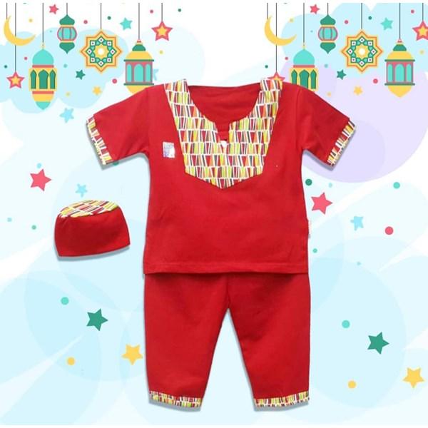 Baju Bayi Baju Koko Bayi Vinata Pattern