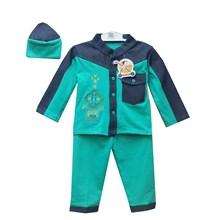 Pakaian Bayi Baju Koko Bayi Vinata Denim