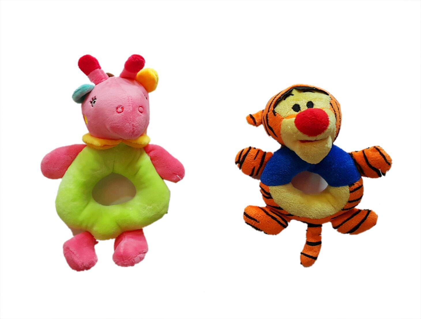 Jual Boneka Mainan Anak Rattle Stick Gelang Rattle Animals Harga Murah Jakarta oleh PT. Sarana