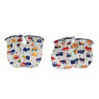 Products and Tools Baby Foot Gloves Vinata Mittens Set S2 - Full Print 4