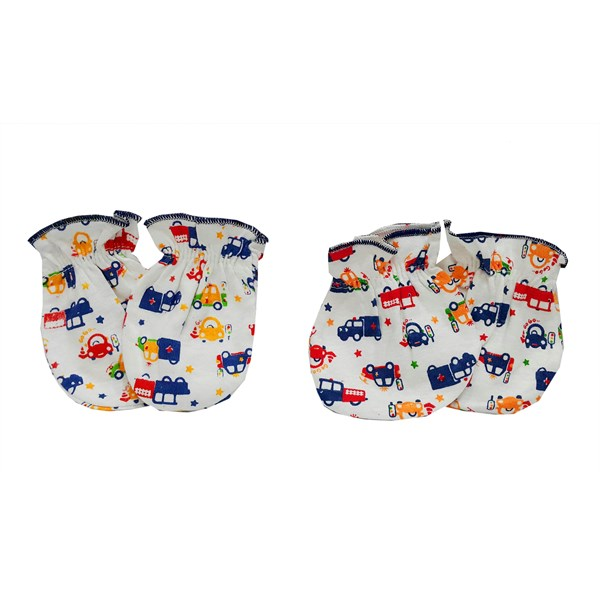 Products and Tools Baby Foot Gloves Vinata Mittens Set S2 - Full Print