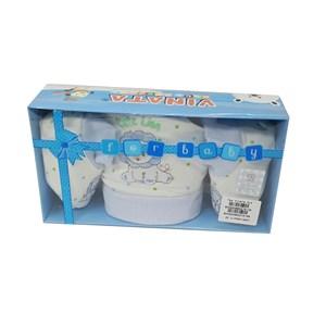 Produk dan Peralatan Bayi Topi Sepatu Bayi Vinata Set Box Mittens Set