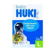 Produk dan Peralatan Bayi Empeng Huki Orthodontic Silicone Nipple