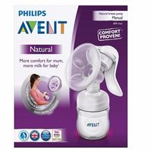 Produk dan Peralatan Bayi Pompa Asi Breast Pump Avent Natural - Manual